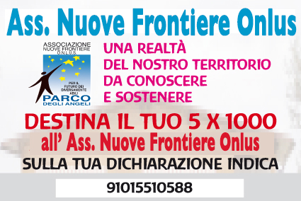 5 x 1000 Nuove Frontiere Onlus